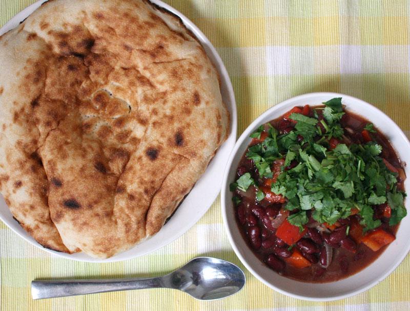 Фасоль с болгарским перцем