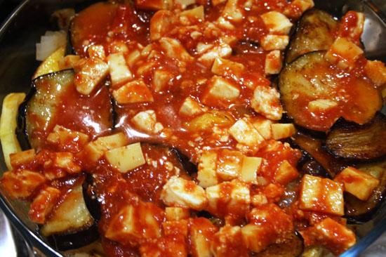 томатная паста с сыром
