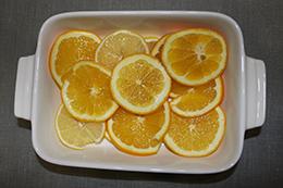апельсины кружочками