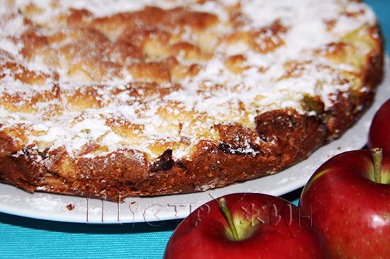 Яблочный пирог Шарлотка