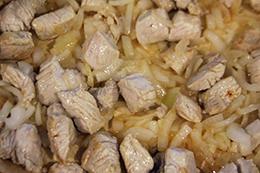 рагу из индейки с кабачком