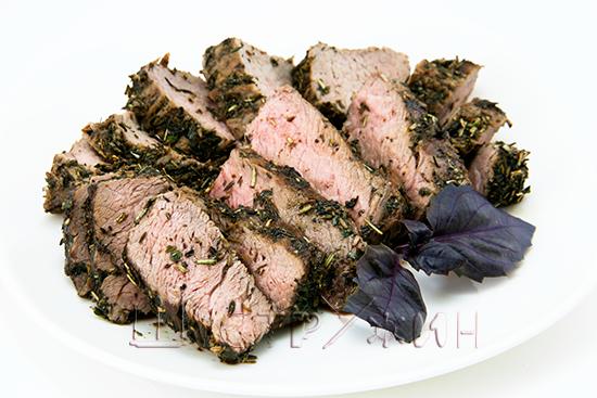 Говяжье филе с травами рецепт