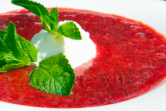 Суп с мятой рецепт с фото