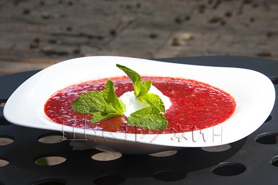 клубничный суп на десерт рецепт