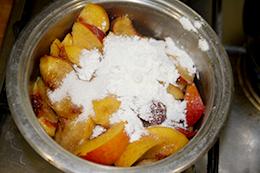 рецепт персиковый коблер