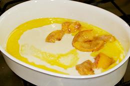 рецепт персиковый коблер с
