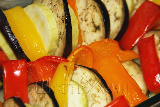 Запеченные овощи, рецепт
