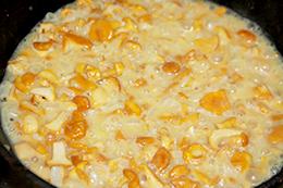 суп с лисичками фото