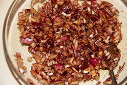 Салат с тунцом и рисом пошагово фото