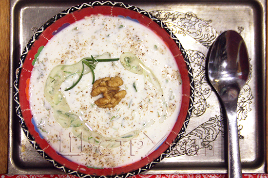 болгарский холодный суп, таратор, рецепт