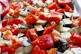 Теплый салат с нутом как приготовить фото