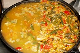 Паэлья с морепродуктами рецепт пошагово фото