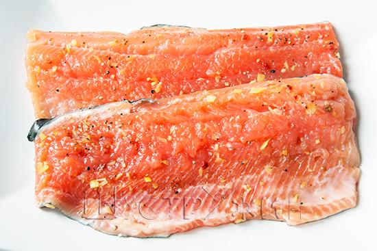 Как засолить красную рыбу, рецепт