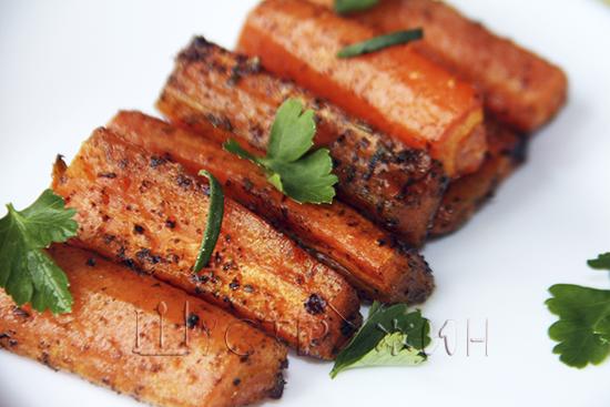 морковь в духовке, рецепт