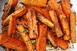 морковь в духовке рецепт пошагово фото