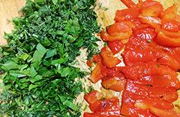 салат с зеленой гречкой как приготовить фото
