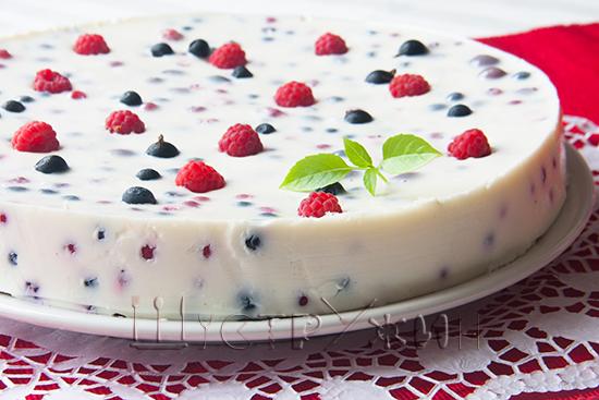Как приготовить метанное желе с ягодами