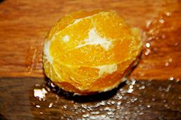 Салат с лососем и апельсином как приготовить фото