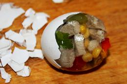 заливные яйца как приготовить фото