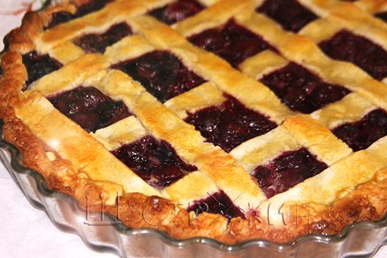 Как приготовить вишневый пирог