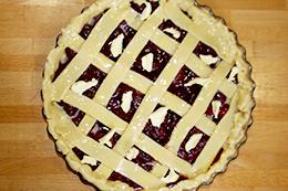 пирог с вишней рецепт пошагово фото