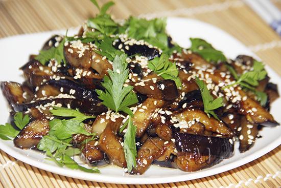 Баклажаны в китайском стиле, рецепт
