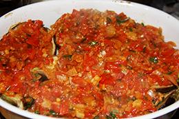 баклажаны с овощами фаршированные как приготовить фото