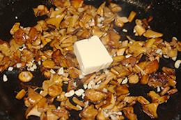 рецепт макарон с лисичками