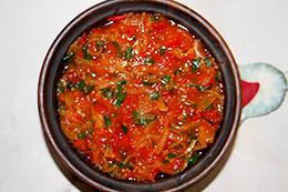 овощное рагу с баклажаном в горшочке в духовке, как приготовить фото