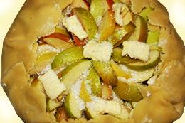 как просто приготовить яблочную галету