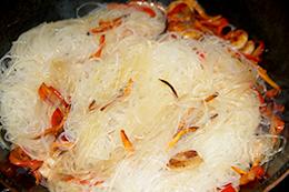 китайская фунчоза на ужин, как приготовить фото