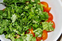 Перуанский салат с киноа и фасолью, как приготовить фото