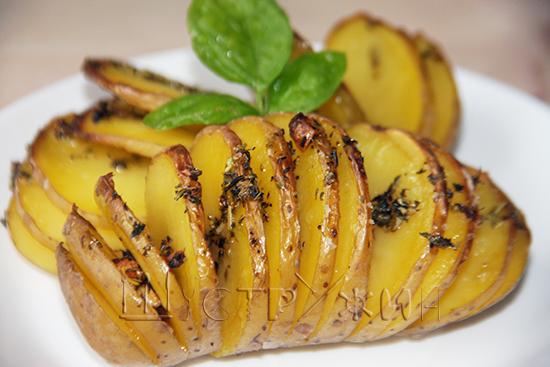 картошка в духовке, рецепт
