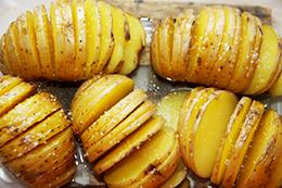 гармошка-картошка в духовке, как приготовить фото