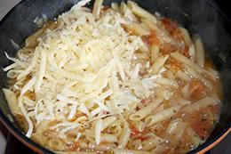 макароны и соус на одной сковородке, как приготовить фото