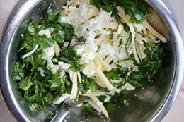 запеканка из баклажанов с творогом и сыром, как приготовить фото