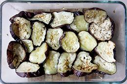 баклажаны с творогом в духовке