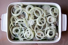 запеканка с рыбой и рисом, рецепт